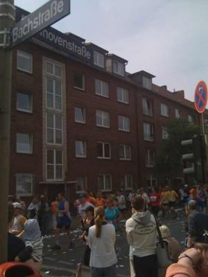 Hamburg Marathon 2009 in Uhlenhorst