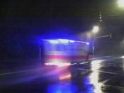 Krankenwagen verfährt sich in Hamburg