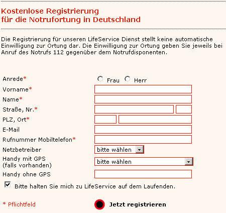 rettung notruf deutschland