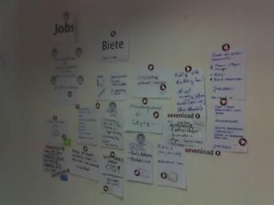 Barcamp: Kontaktbörse