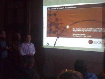EPEA-Präsentation auf der Socialbar